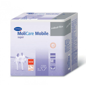 MOLICARE MOBILE SUPER PROTECTIVE UNDERWEAR MEDIUM CASE
