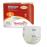 TRANQUILITY ELITECARE DISPOSABLE BRIEFS WITH POWERSORB M CASE