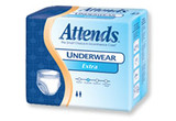 ATTENDS EXTRA ABSORBENT PROTECTIVE UNDERWEAR MEDIUM CASE