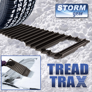 2 IN 1 TREAD TRAX AND ICE SCRAPER