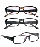 READING GLASSES 3 PAIRS