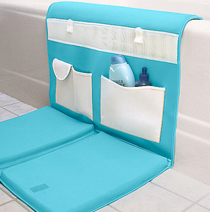 BATHTUB CADDY AND KNEELING PAD