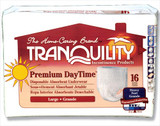 TRANQUILITY PREMIUM DAYTIME DISPOSABLE ABSORBENT UNDERWEAR BY CASE