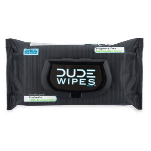DUDE WIPES FLUSHABLE MOIST WIPES