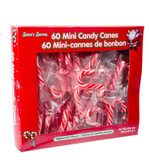 MINI PEPPERMINT CANDY CANES 60PC