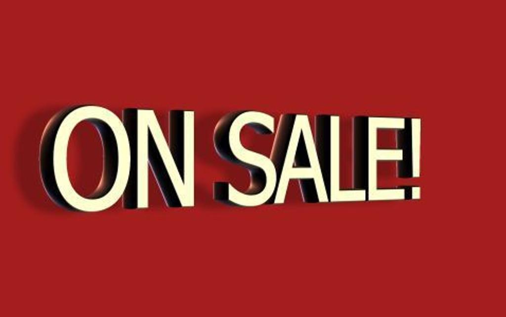 On Sale This week!