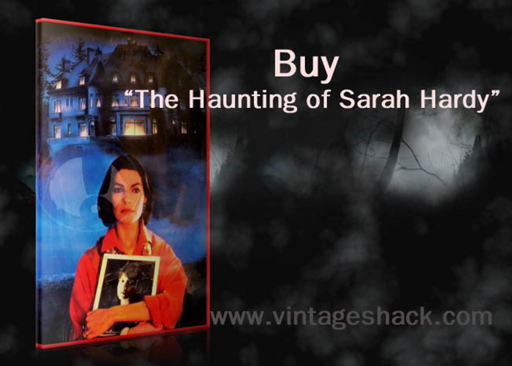 The Haunting of Sarah Hardy DVD
