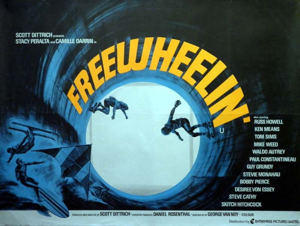 Skateboard fan? this is a must have for your collection! Buy Freewheelin' starring Skateboard god Stacy Peralta. 70s skate action.