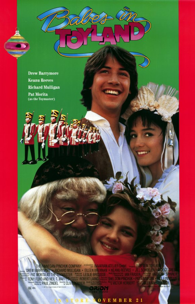 Buy Babes in Toyland on DVD starring Keanu Reeves & Drew Barrymore