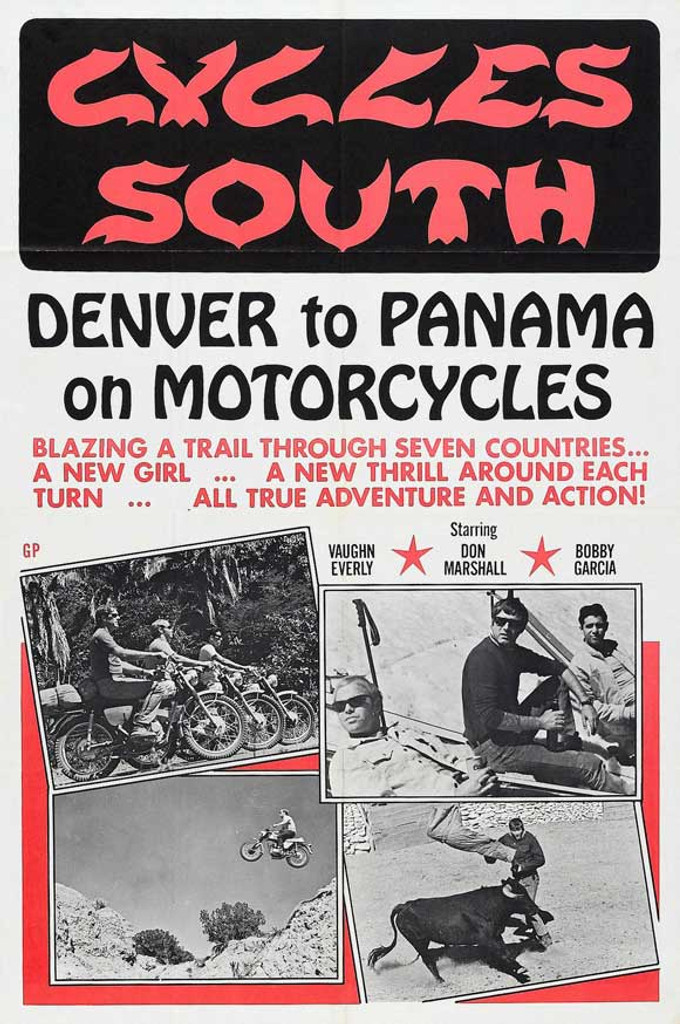Cycles South DVD (1971)