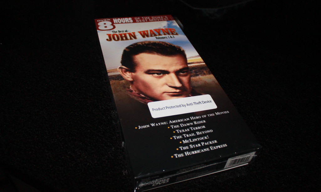 Winner of the John Wayne DVD Box set *April 2017 Giveaway