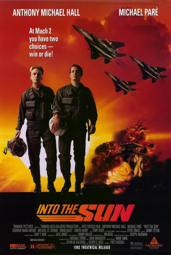 Into the Sun DVD starring Anthony Michael Hall and Michael Pare' from 1992