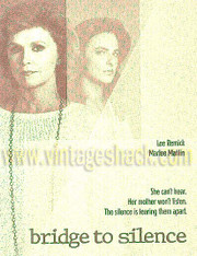 Bridge to Silence DVD starring Lee Remick