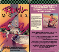 "Rare Skateboard movie ""Radical Moves"" from 1986 on DVD!"