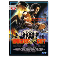 Knights of the City DVD Starring Leon Isaac Kennedy (Rare Gang war Flick)
