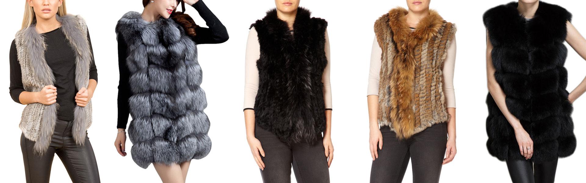 Real Fur Gilets