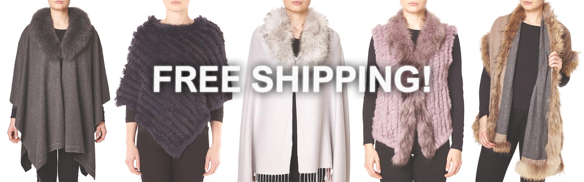Fur Gilet Free Shipping
