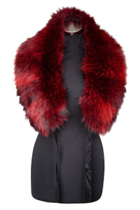 Large Red Fox Fur Collar LFC-08