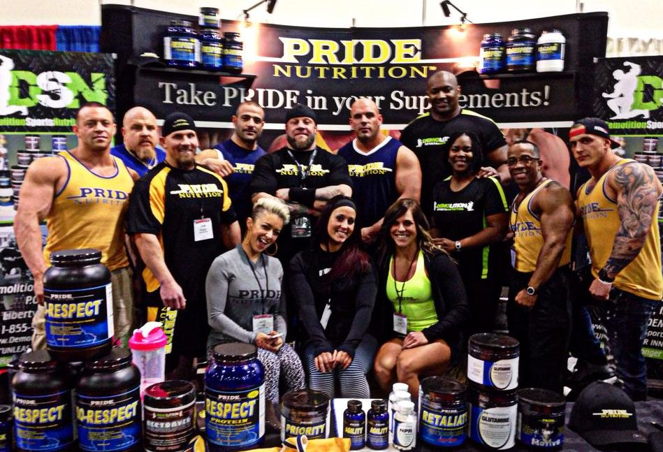 The Pride Nutrition Team Arnold 2014