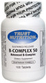 B-Complex 50 mg  100 Capsules