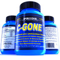 #1 Fat Burner - PRIDE C-GONE - All Natural Non-Stimulant Carb and Fat Metabolizer  - Best Weight Loss Supplement with Chromium Picolinate, Acetyl-L-Carnitine, L-Glutamine, Alpha Lipoic Acid, Gymnema Extract and Vanadyl Sulfate