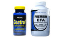 Control 60 Capsules and Premium EFA 120 Softgels