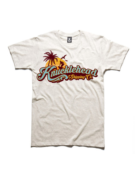 T-shirt Front: Large Surf Print
