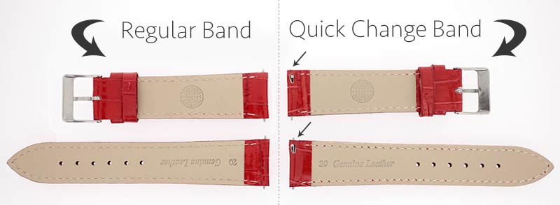 how to change watch band