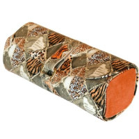 Leopard Print Jewelry Travel Roll | Main View