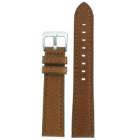 Watch Band Honey Brown Genuine Leather