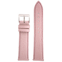 Pink Leather Lizard Grain Watch Band | TechSwiss LEA744 | Main