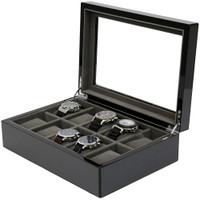 Watch Box in Carbon Fiber Finish