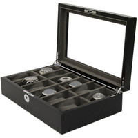 Black & Grey Watch Case
