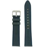 Weathered Blue Leather Watch Band | TechSwiss LEA453 | Main