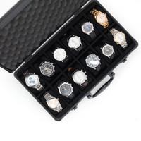 Black Matte Aluminum Watch Case | TechSwiss Watch Cases | Aluminum ALBX12BK | Main