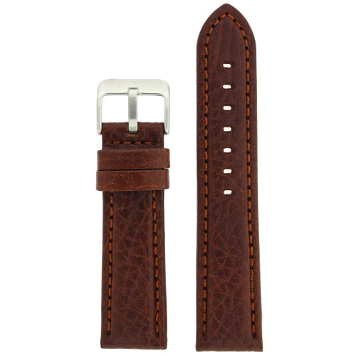 Brown Leather Watch Band   TechSwiss LEA1620   Main