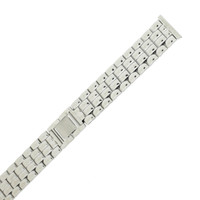 Stainless Steel Watch Band with Fold Over Clasp