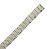 Mens Expansion Watch Band Silver Tone TSMET160
