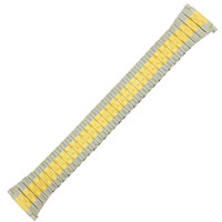 Watch Band Expansion Metal Stretch Two-Tone 16mm-20mm