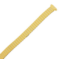Expansion Metal Stretch Gold-tone Ladies Watch Band