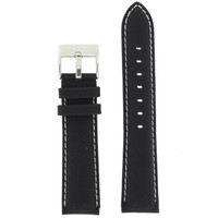 Main Nylon black Watch Band LEA622