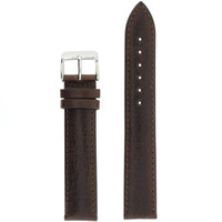 Brown Leather Band 19mm | TechSwiss LEA1432 | Front