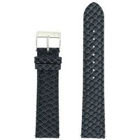 Grey Watch Band Snake Grain | Tech Swis LEA1145 | Front