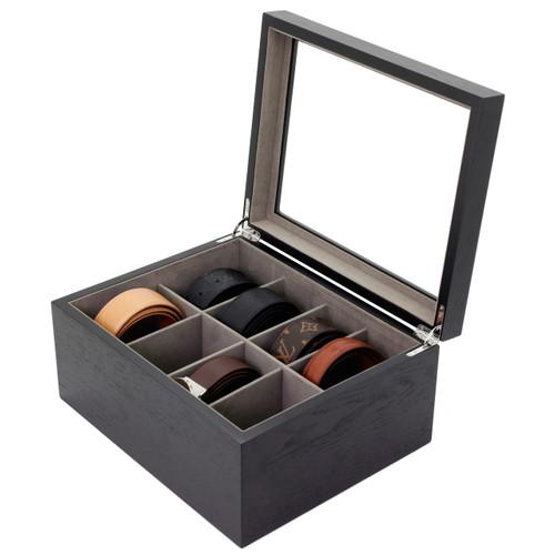 Wood Tie Box | TechSwiss Tie Organizer | Menu0027s Tie Organizer | Menu0027s Wood Tie Case  sc 1 st  Tech Swiss & Wood Tie Box | Tie Storage Case | Luxury Menu0027s Tie Organizer ... Aboutintivar.Com