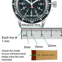 How to Measure Watch Band