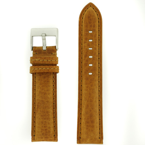 Tan Brown Watch Band| Front Pic