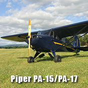 Piper PA-15 and PA-17