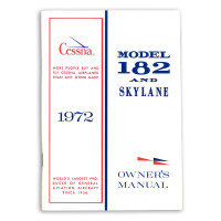 D906-13   CESSNA 182P OWNERS MANUAL 1972
