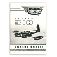 D731-13   CESSNA 310 OWNERS MANUAL 1955
