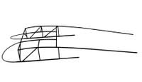 U24096-002   PIPER TOP DECK SUPER STRUCTURE ASSEMBLY